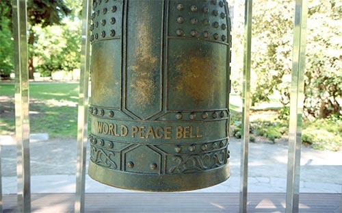 世界平和の鐘 クライストチャーチ